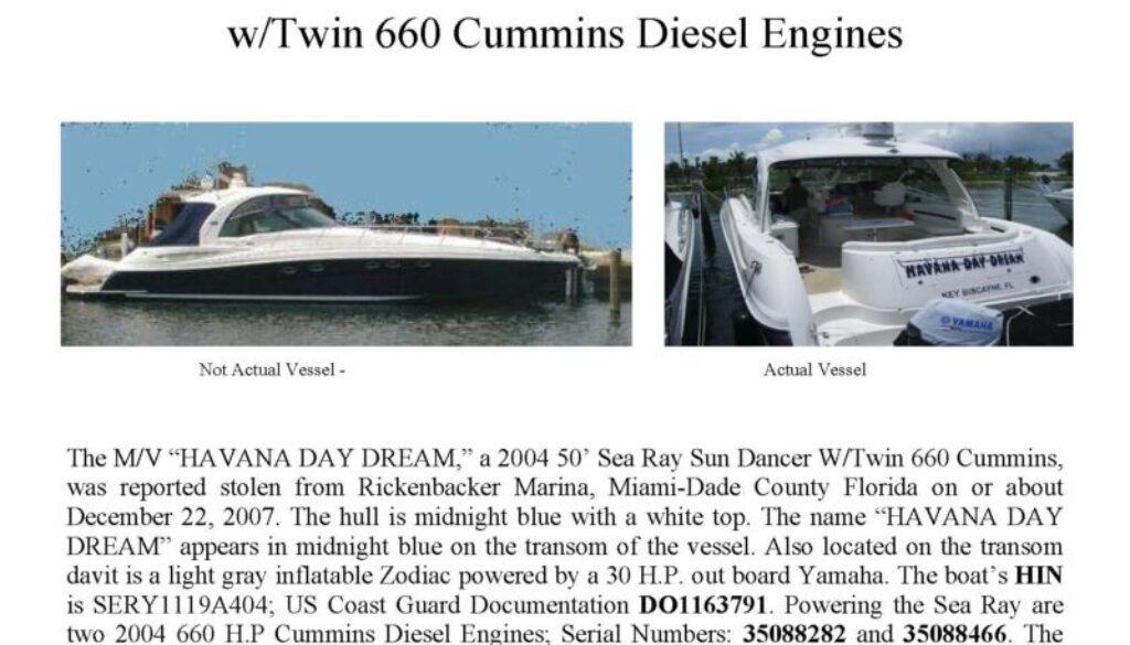 5912 08 Stolen Boat Notice