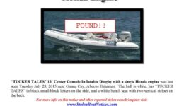 6606-15 Missing Dinghy Tucker Tales Found