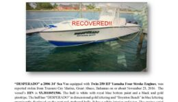 6747-16-stolen-boat-notice-2006-34-sea-vee-recovered